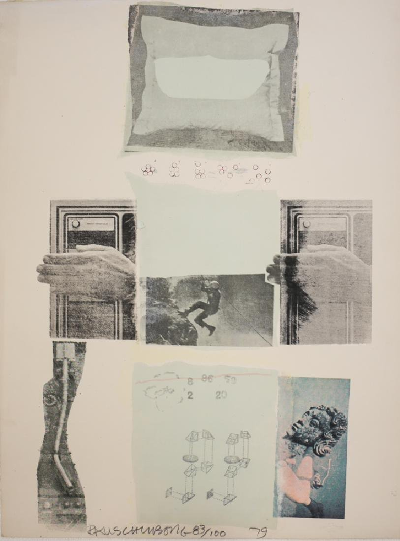 Rauschenberg, Robert American 1925-2008 Mixed Media #89