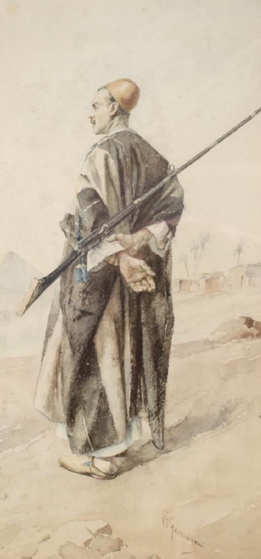 Vittorio Guanccimanni Watercolor