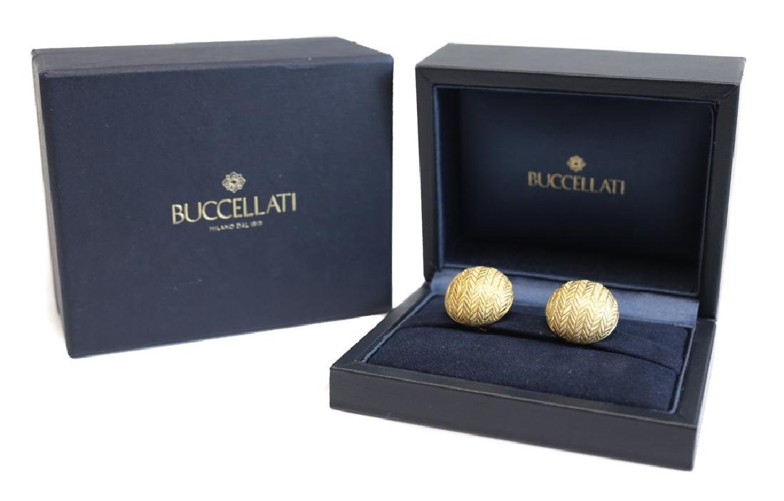 Buccellati 18k Gold Earrings