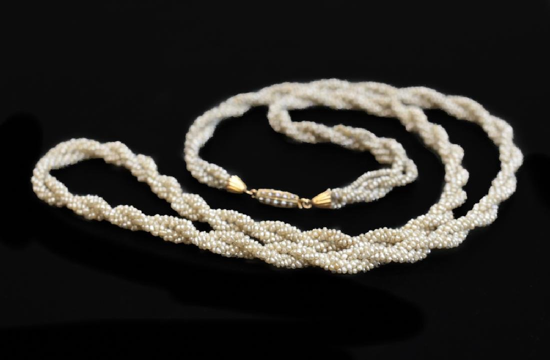 Victorian Seed Pearl Necklace