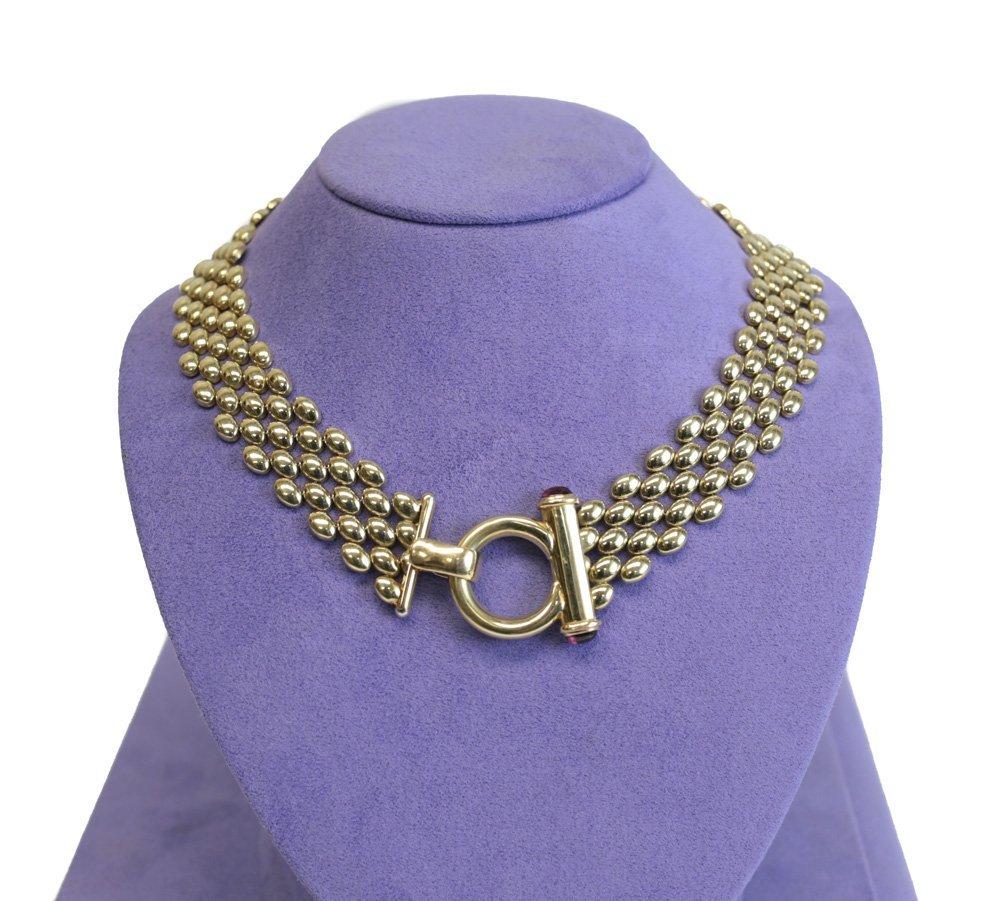 14k Gold Italian Necklace