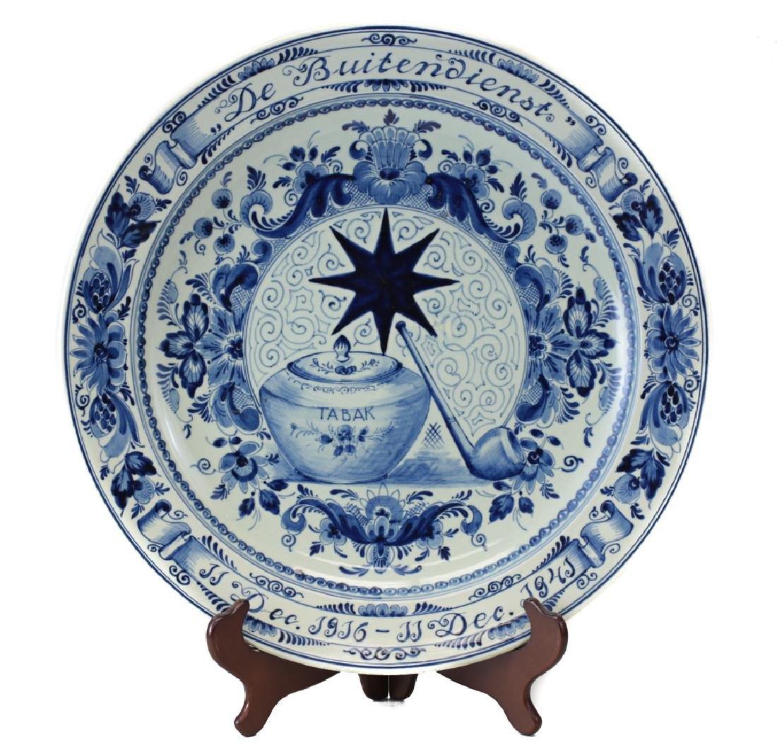 Faience Earthenware Charger