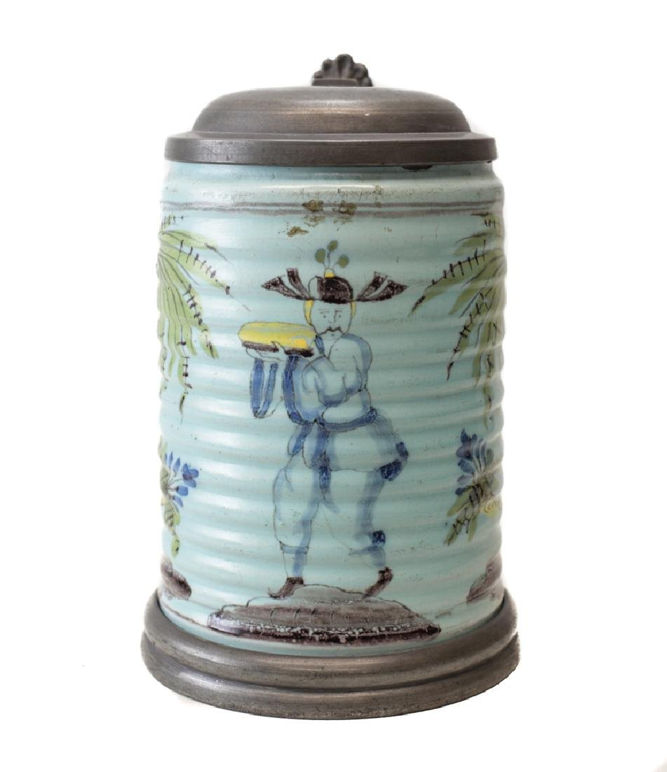 German? Faience Tankard