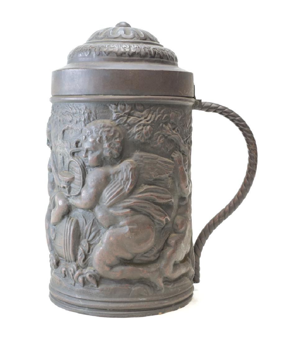 Continental Copper Tankard