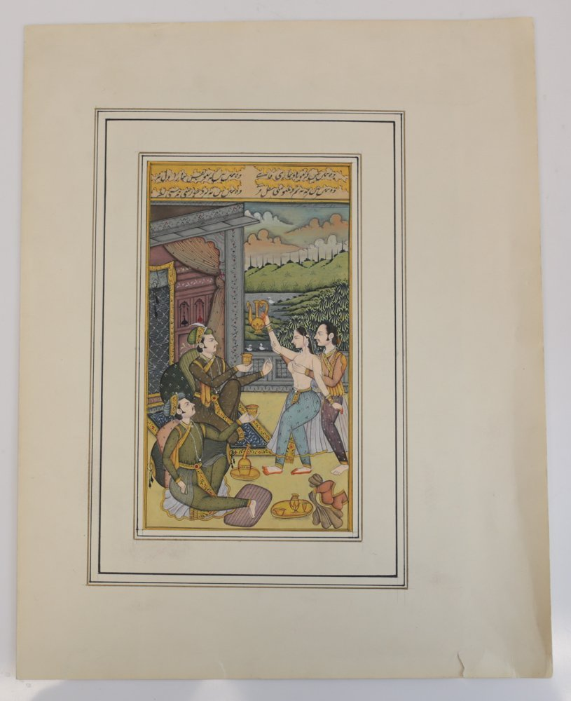 Indo-Persian Miniature Painting