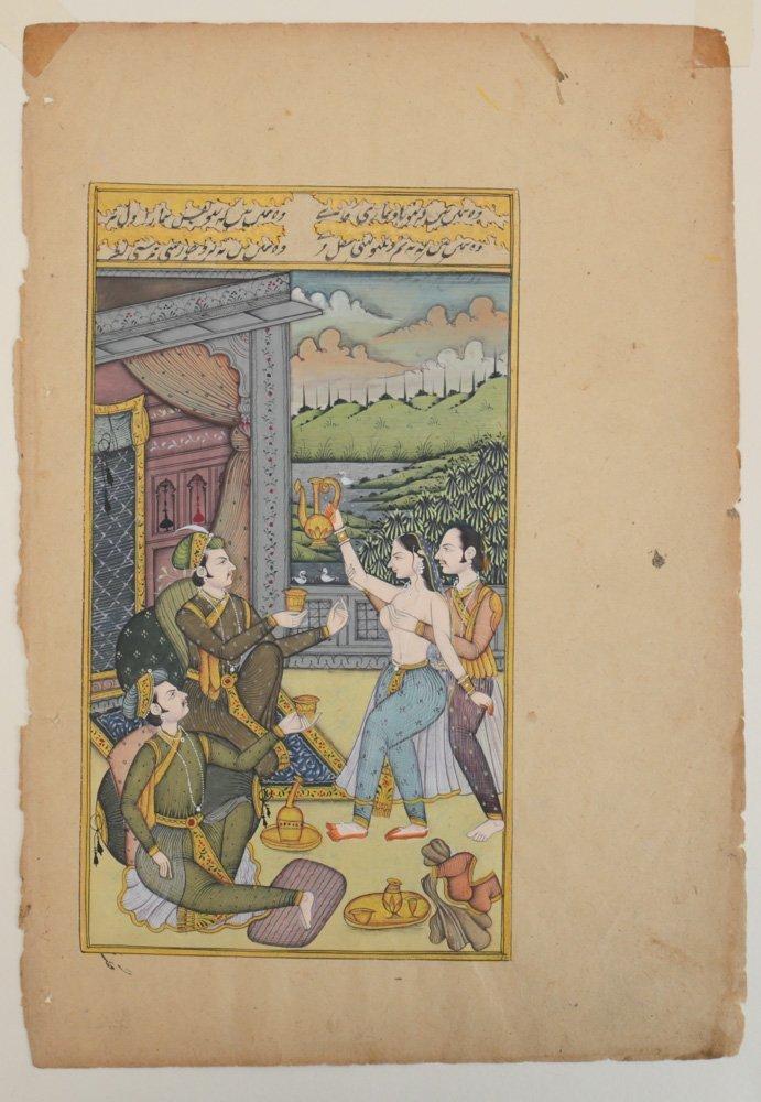 Indo-Persian Miniature Painting - 2