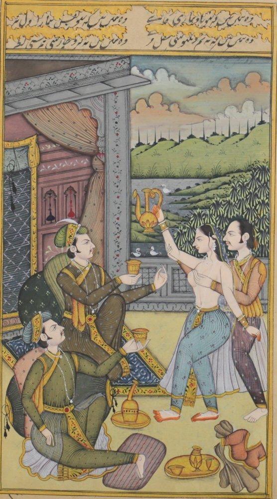 Indo-Persian Miniature Painting - 3