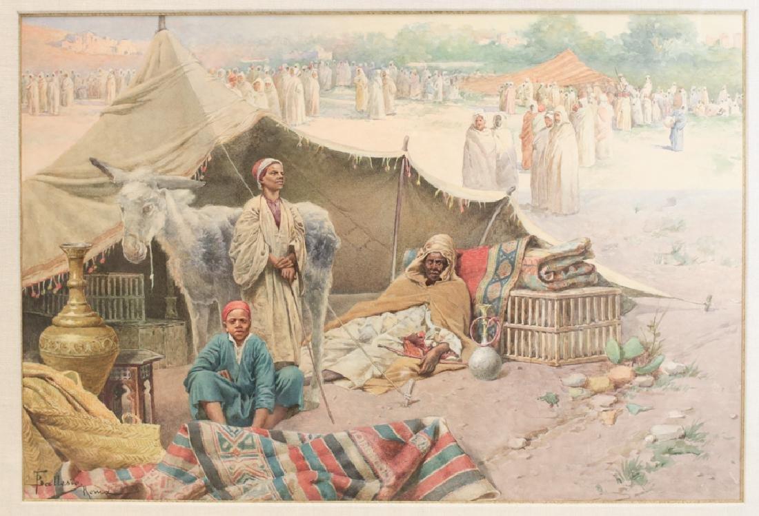 Francesco Ballesio Watercolor Painting