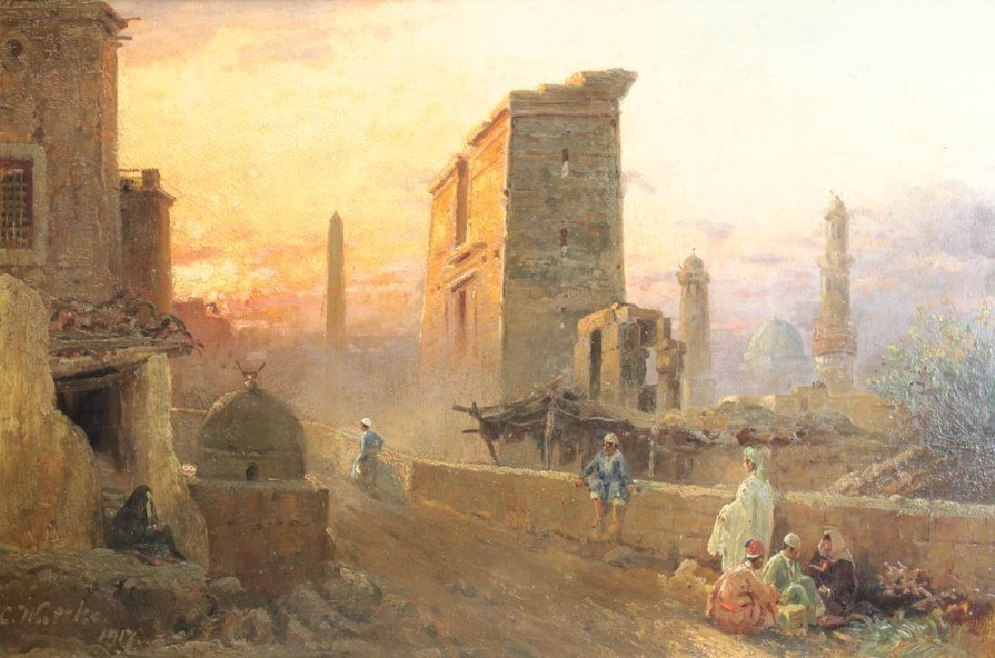 Carl Wattke Oil Painting