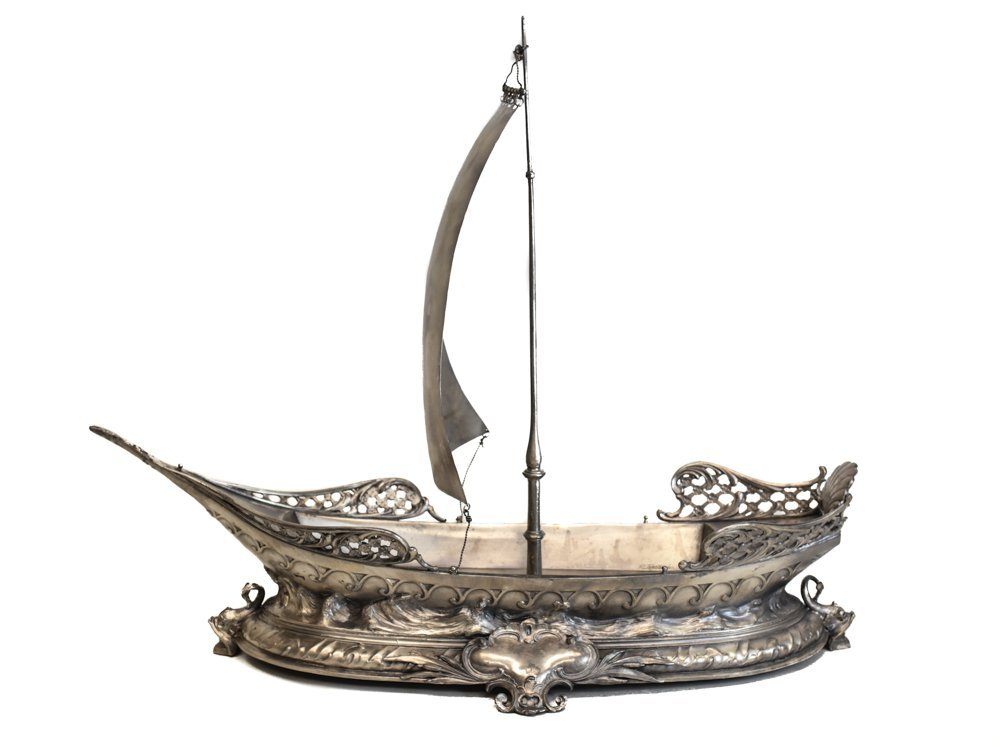 WMF Ship Form Ceneterpiece Bowl
