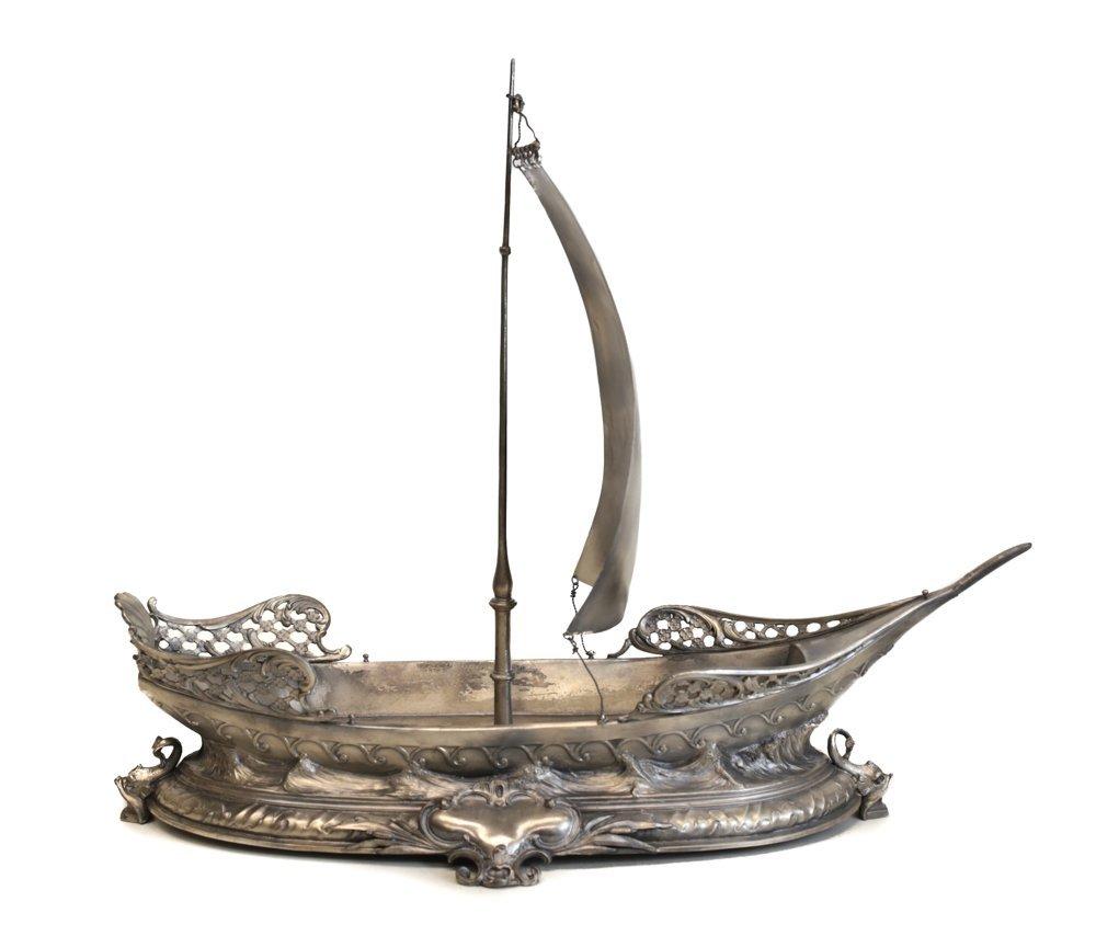WMF Ship Form Ceneterpiece Bowl - 3