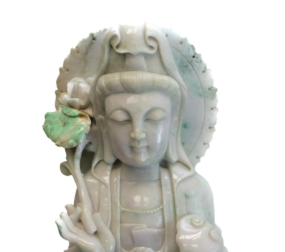 Large Chinese Jadeite Sculpture - 2