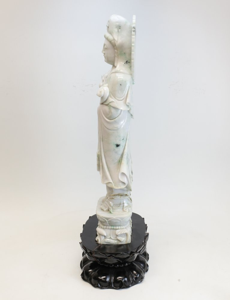 Large Chinese Jadeite Sculpture - 7