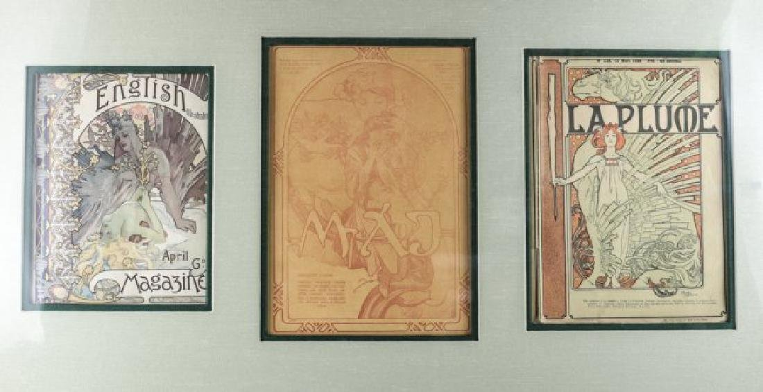 Alphonse Mucha (Czech, 1860-1939) Magazine Covers