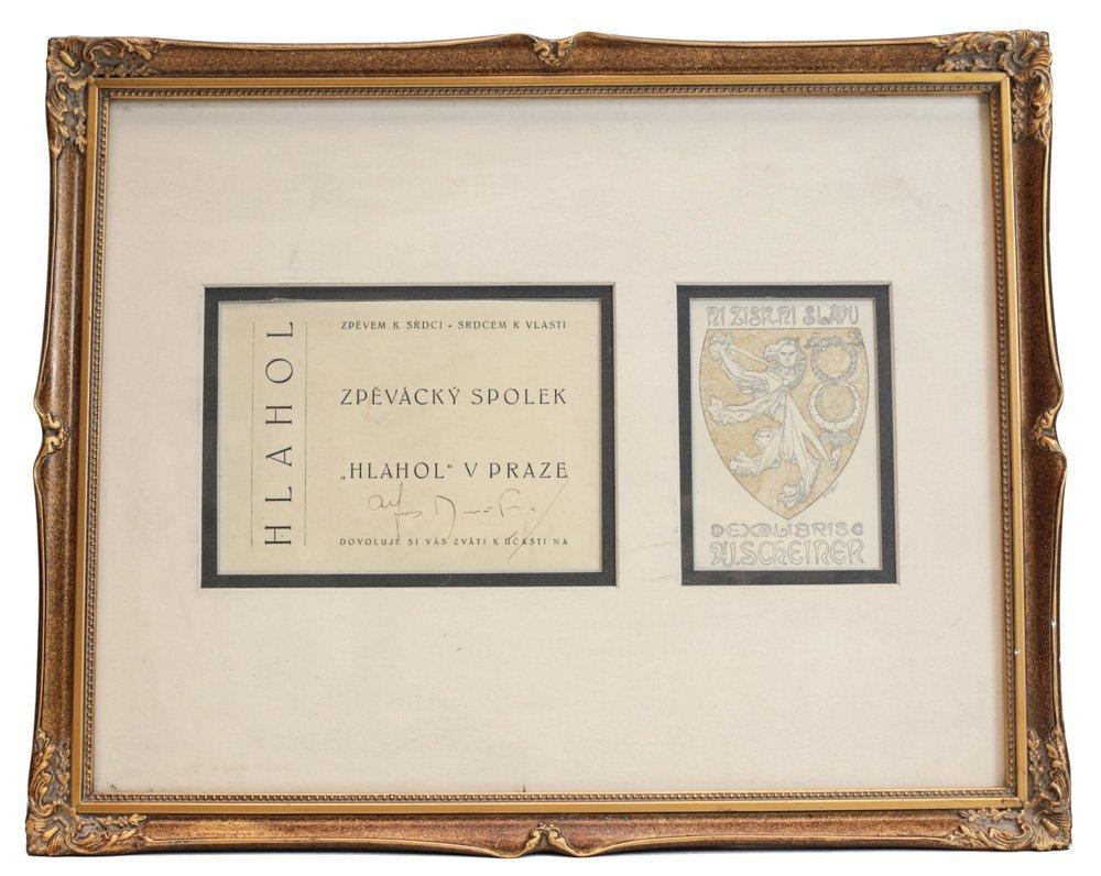 Alphonse Mucha (Czech, 1860-1939) Ex-Libris Bookplate - 4