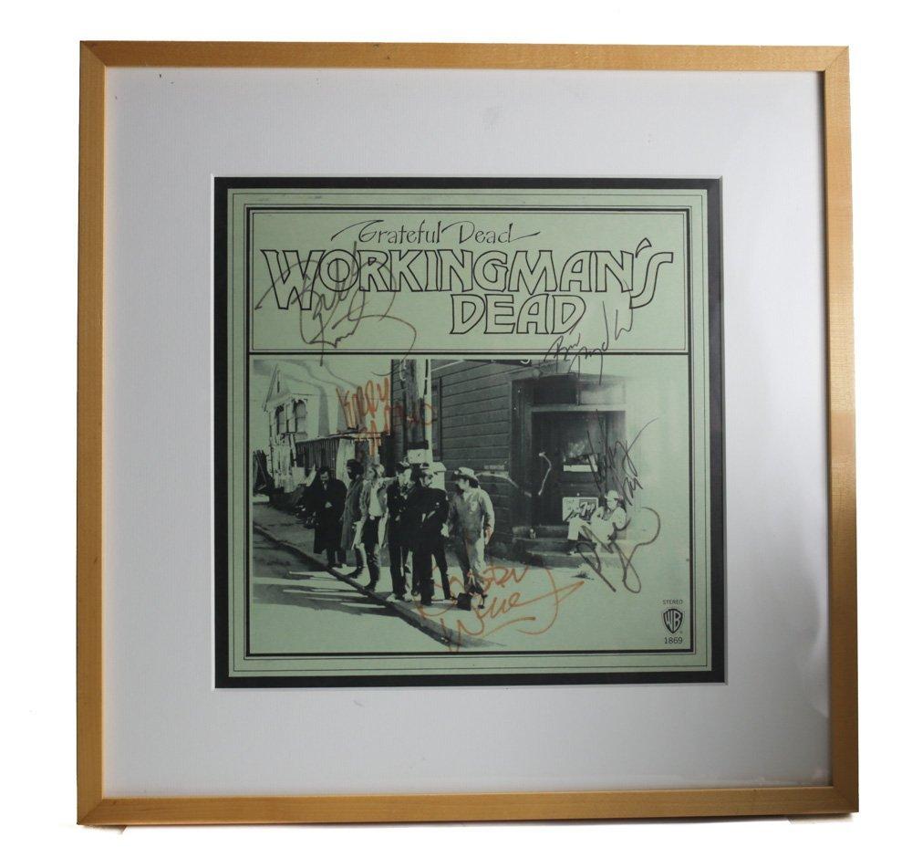 "Grateful Dead ""Workingman's Dead"" Signed Album"