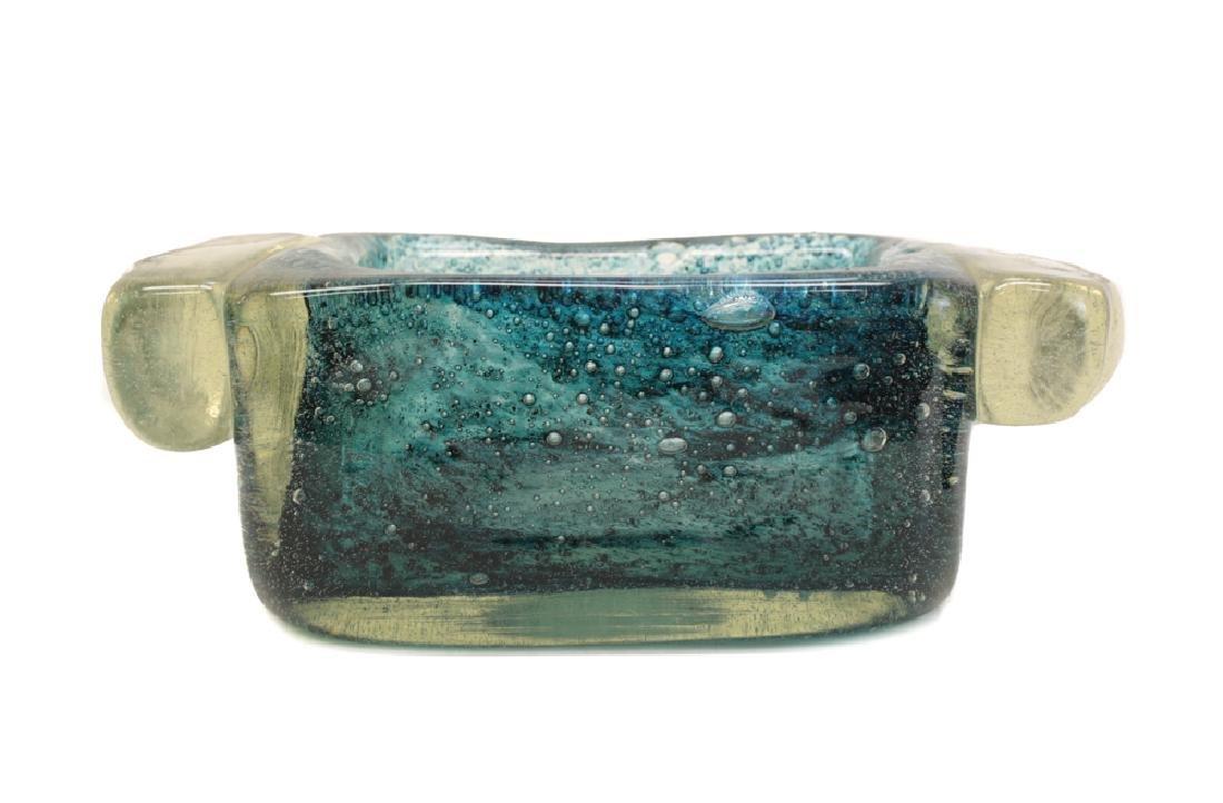 Schneider Dual Handled Glass Bowl or Planter - 3