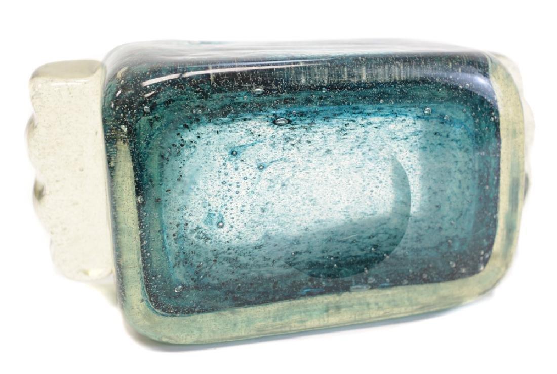 Schneider Dual Handled Glass Bowl or Planter - 4