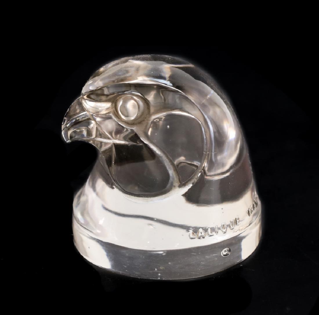 Lalique Tete D'epervier Mascot - 2