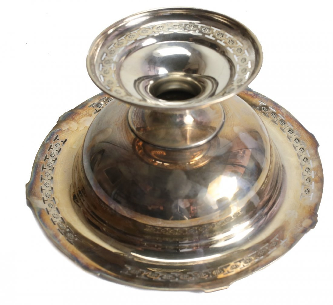 Reed & Barton Sterling Silver Compote - 3