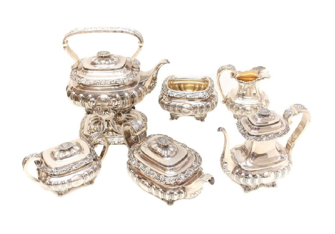 Gorham Sterling Silver Tea & Coffee Service - 2