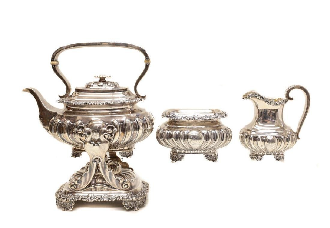 Gorham Sterling Silver Tea & Coffee Service - 3
