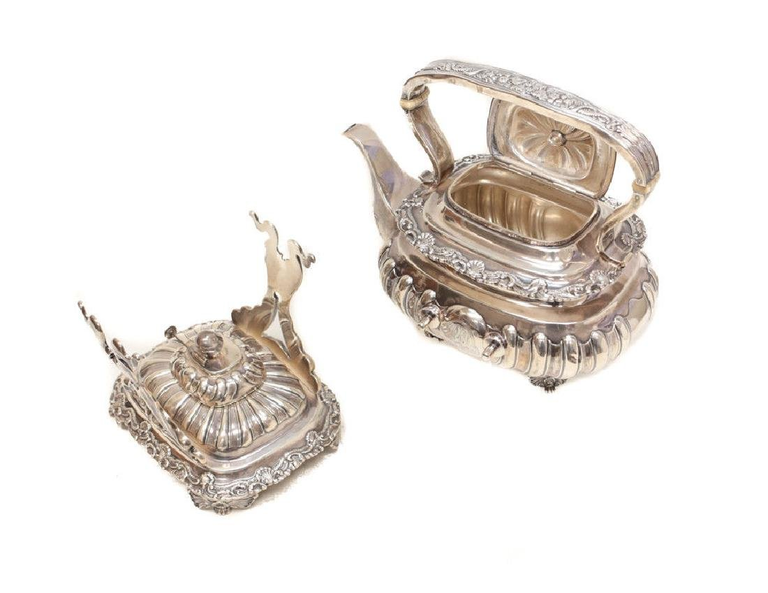 Gorham Sterling Silver Tea & Coffee Service - 6