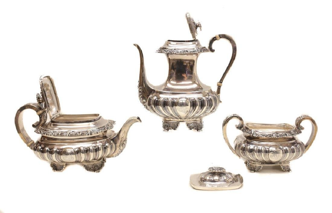 Gorham Sterling Silver Tea & Coffee Service - 9