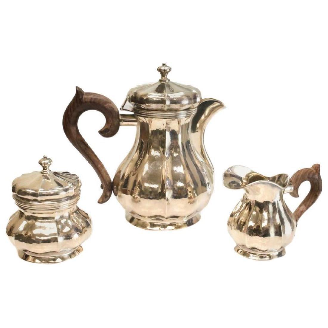 Buccellati Sterling Silver Tea Set
