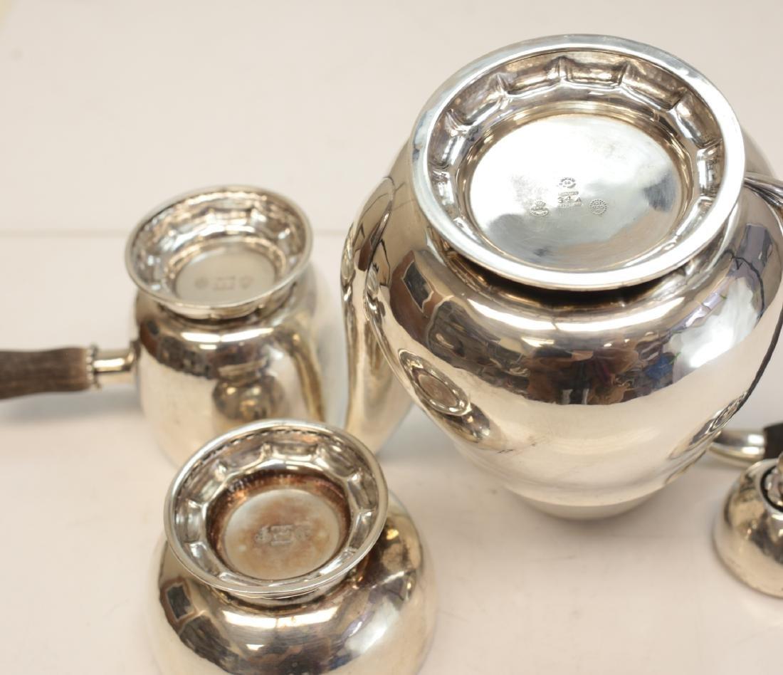 Georg Jensen Sterling Silver Chocolate Set - 3