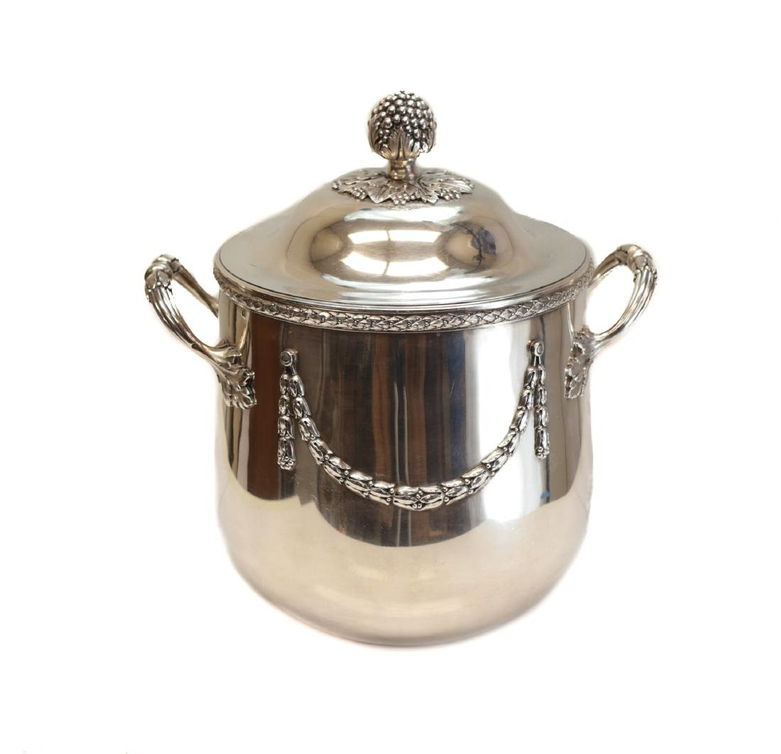 Andre Aucoc French Sterling Silver Ice Bucket