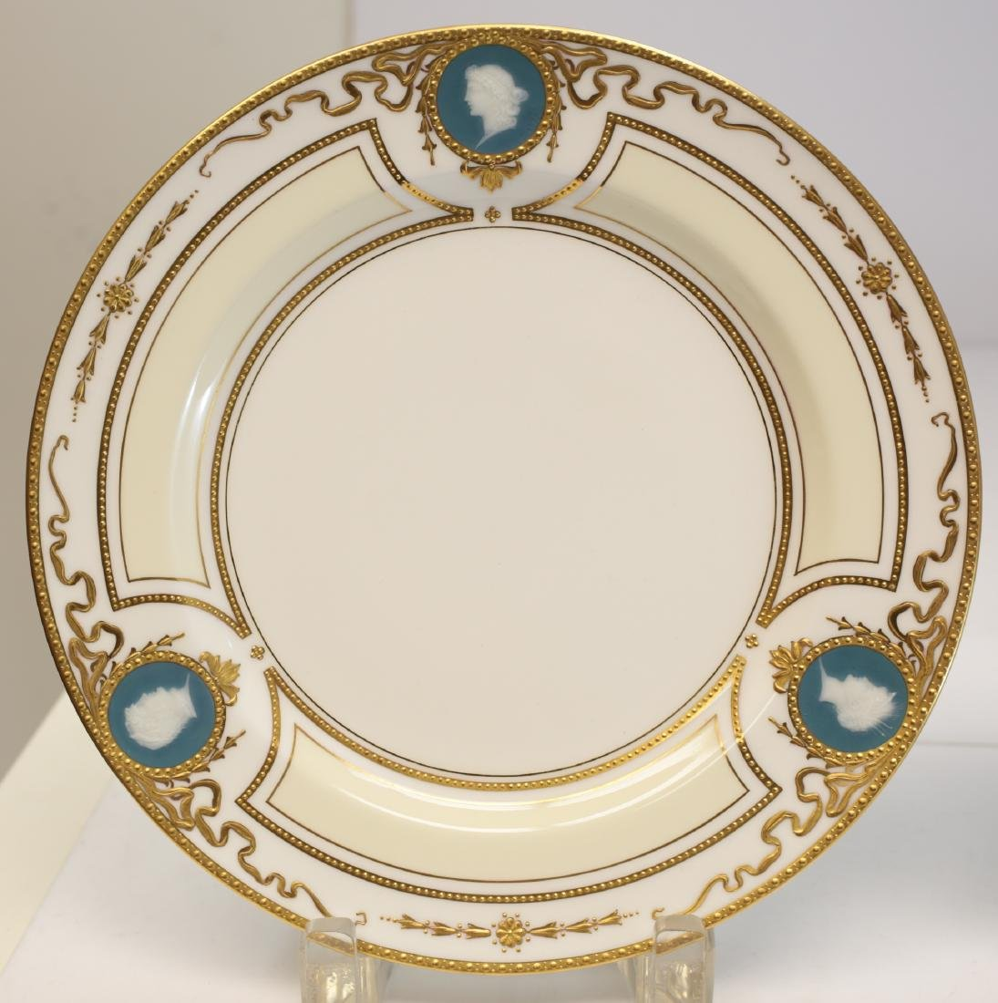 Minton for Tiffany Pate Sur Pate Luncheon Plates - 2