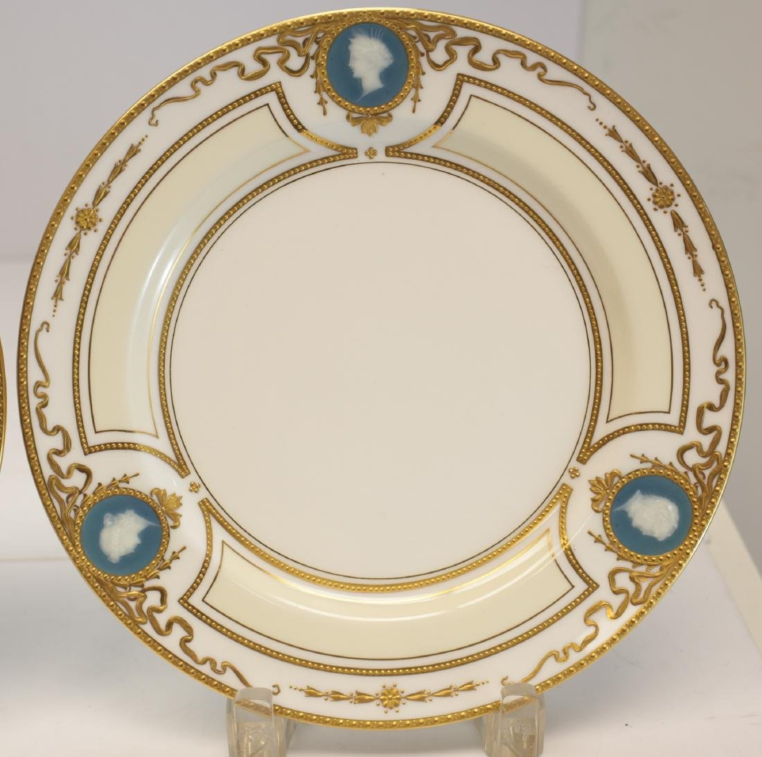 Minton for Tiffany Pate Sur Pate Luncheon Plates - 3