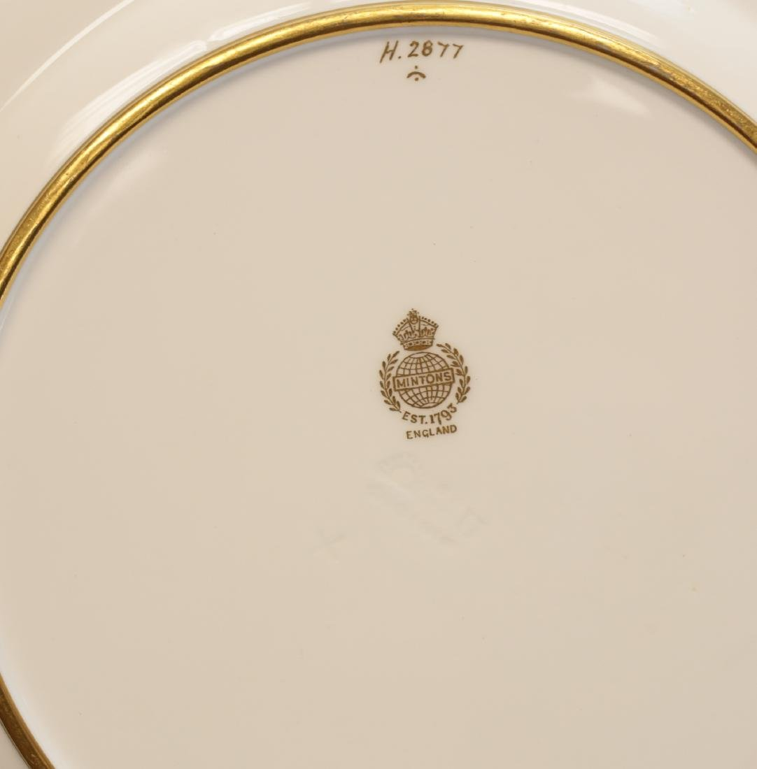 Minton for Tiffany Pate Sur Pate Luncheon Plates - 7