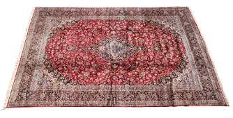 Kashan Wool Rug, c1950