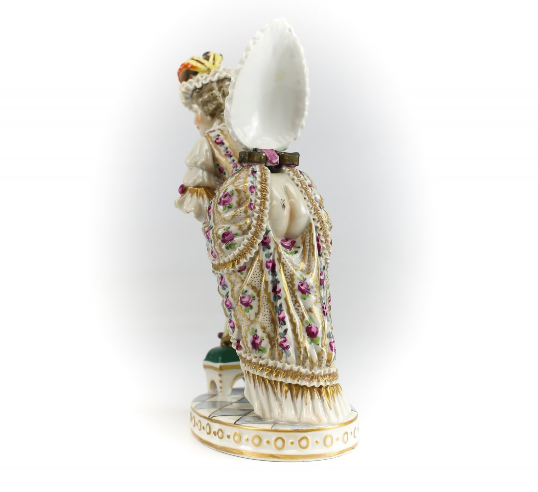 19th C Sevres Erotic Figurine w/ Surprise Under Bustle - 2