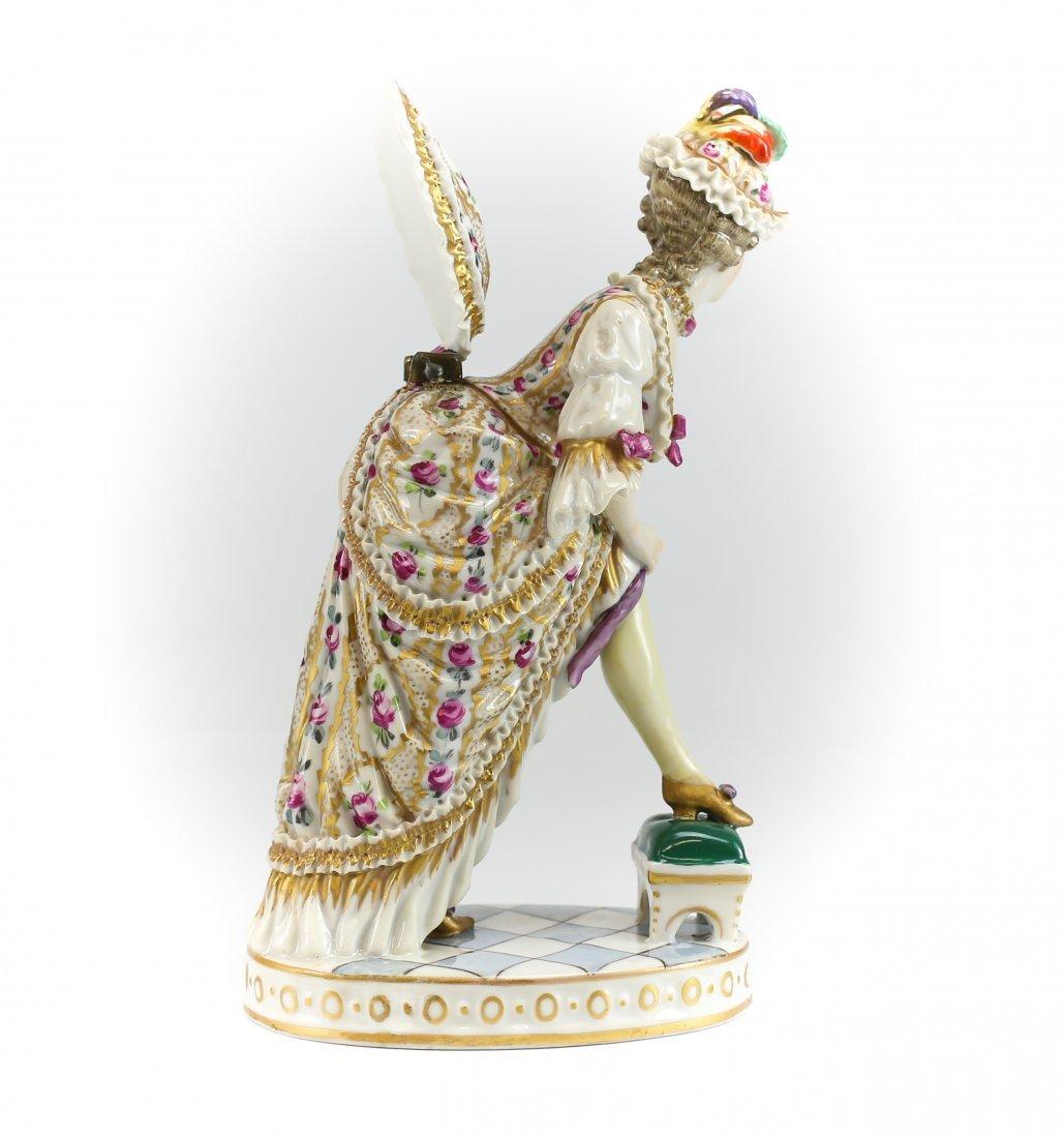 19th C Sevres Erotic Figurine w/ Surprise Under Bustle - 3