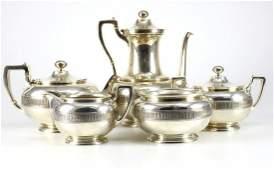 5pc Tiffany & Co. Sterling Silver Tea & Coffee Service