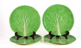 Group of Dodie Thayer Lettuce Ware Dinner Plates
