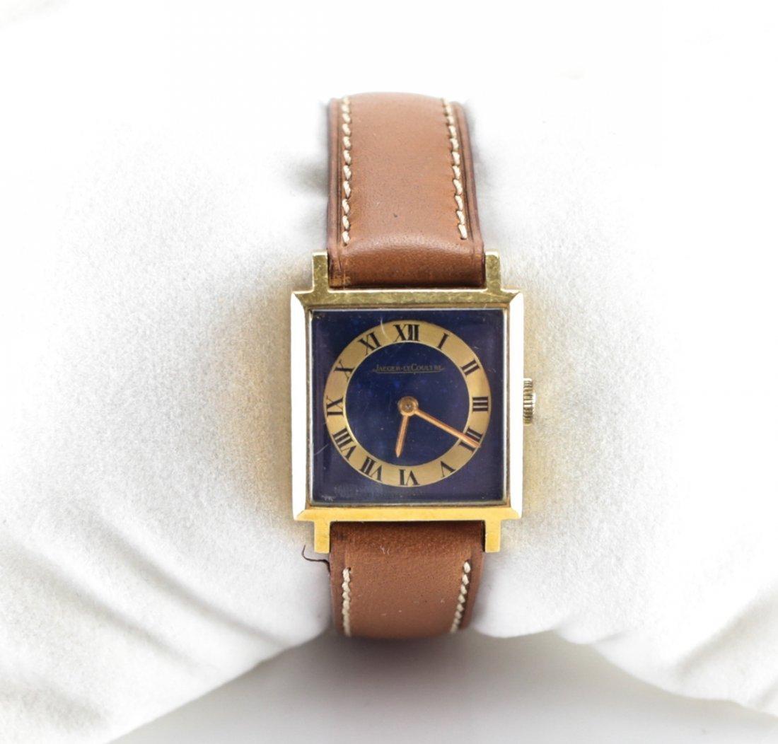 Jaeger Le Coultre 18K Gold Watch