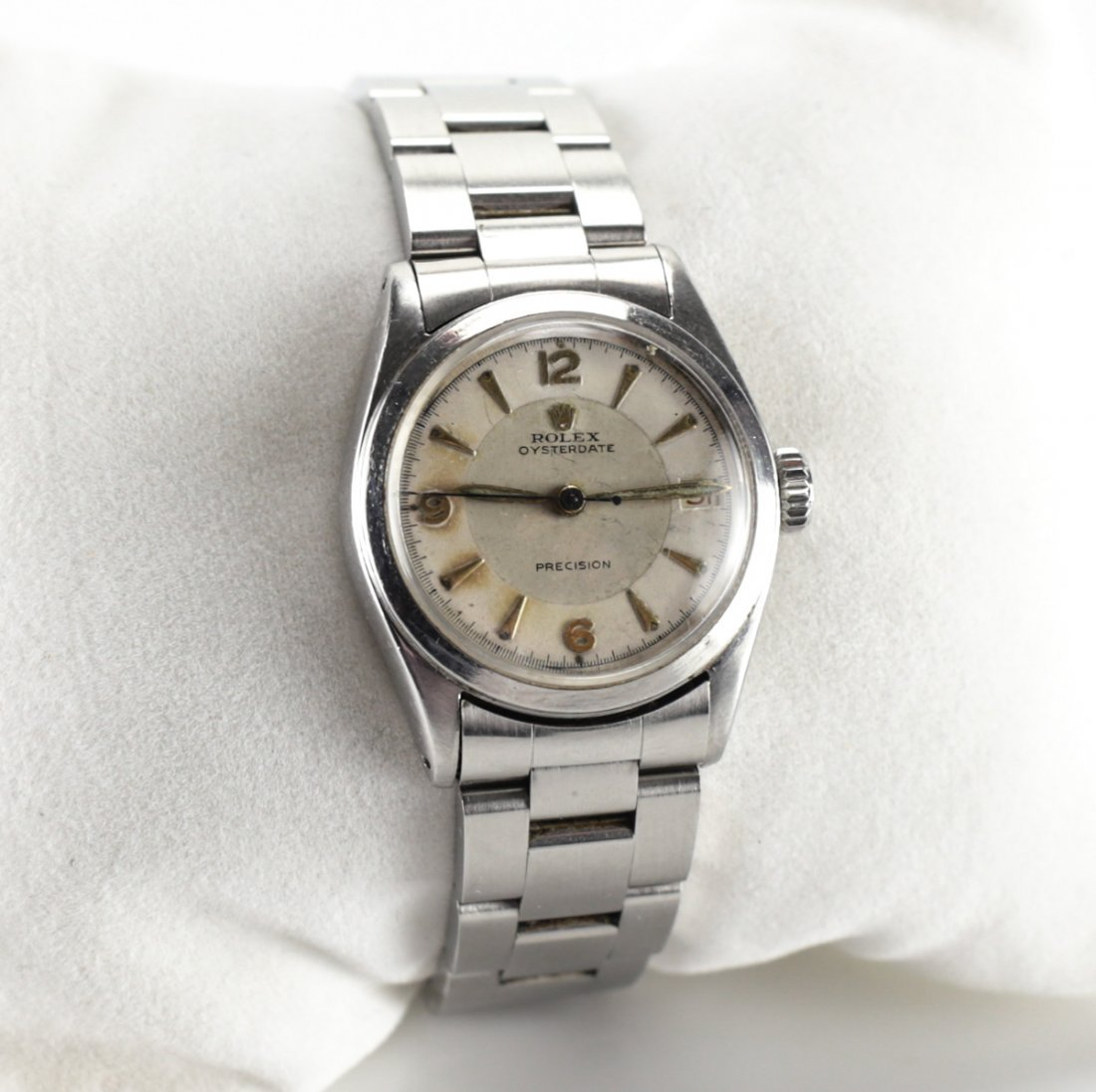 Rolex Stainless Steel Oysterdate Precision Watch