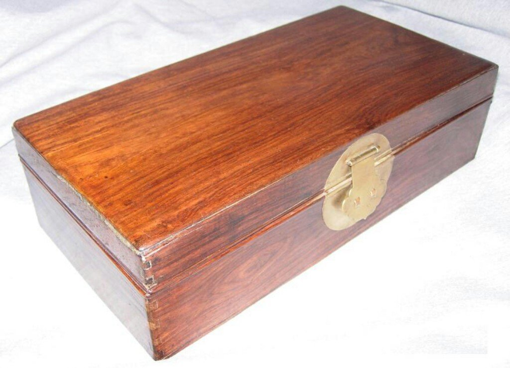 A Chinese Huanghuali Woodbox