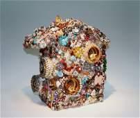 Leonard Goldberg  Jeweled Bird House