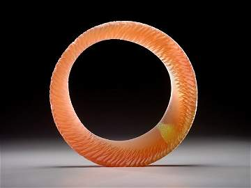 Amber Sun Ring by Alex Gabriel Bernstein