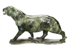 Shona (Zimbabwe) Stone Sculptures: Panther