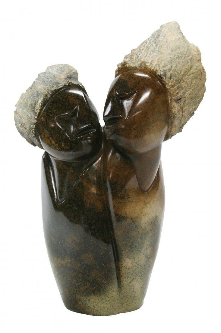 Shona (Zimbabwe) Stone Sculptures: Love Rekindled