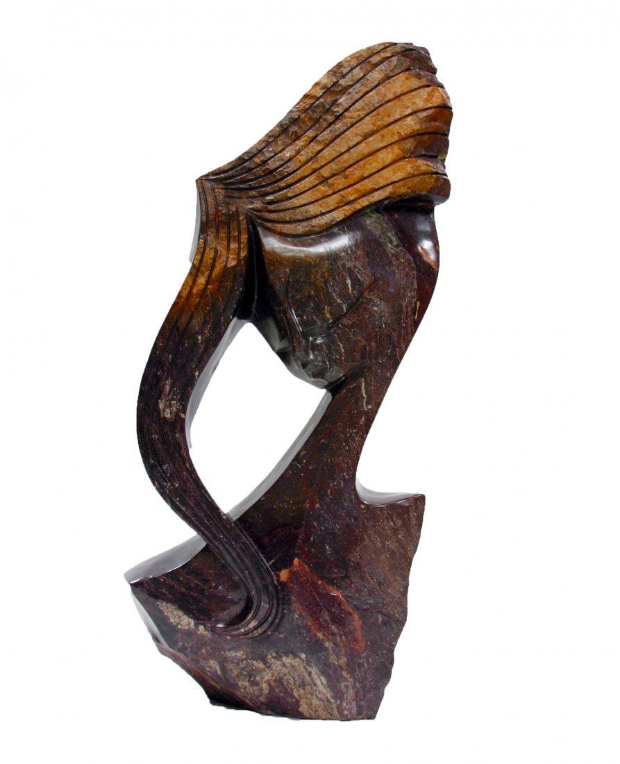Shona (Zimbabwe) Stone Sculptures: Serenity