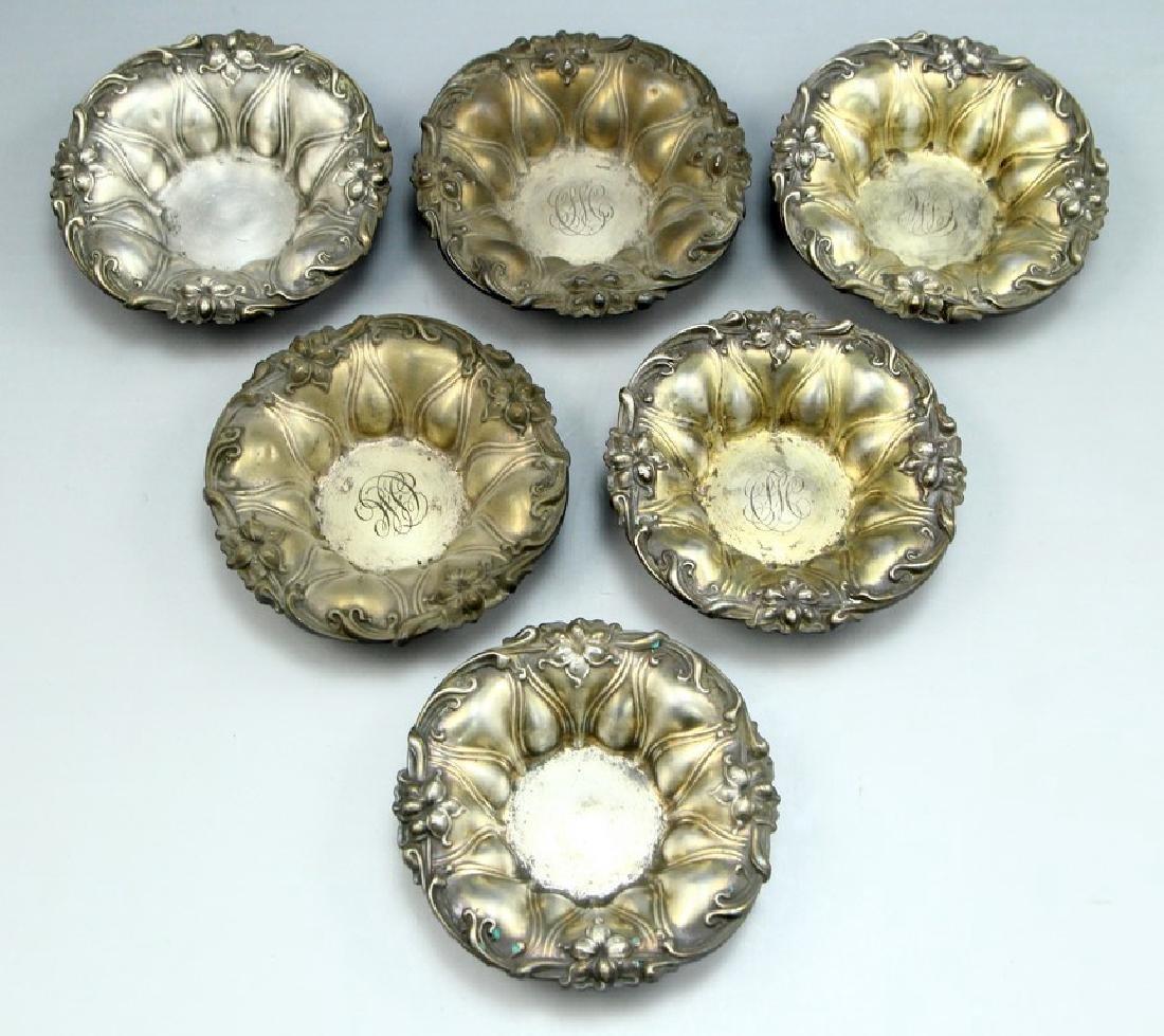 Set of Small Silver Bowls