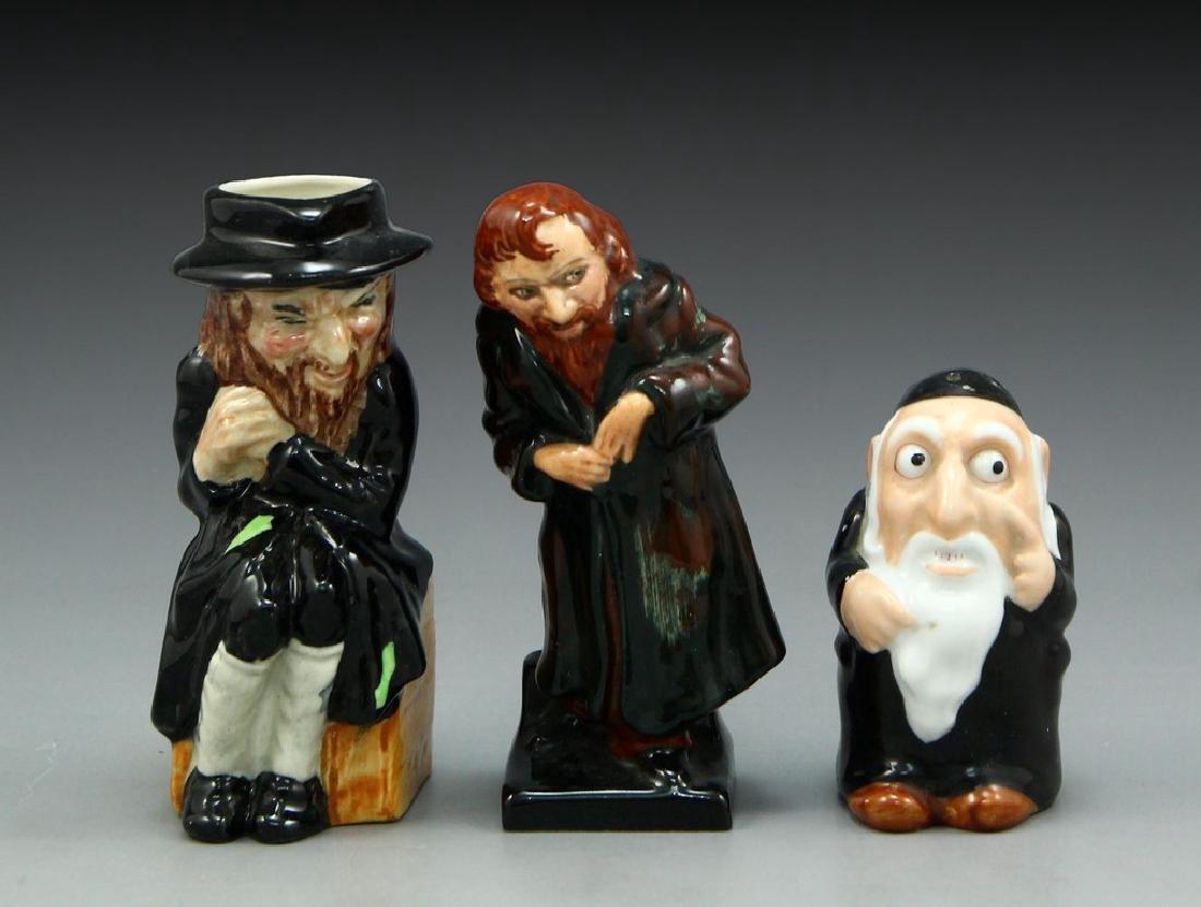 Lot of 3 Anti-Semitic Porcelain Figurines