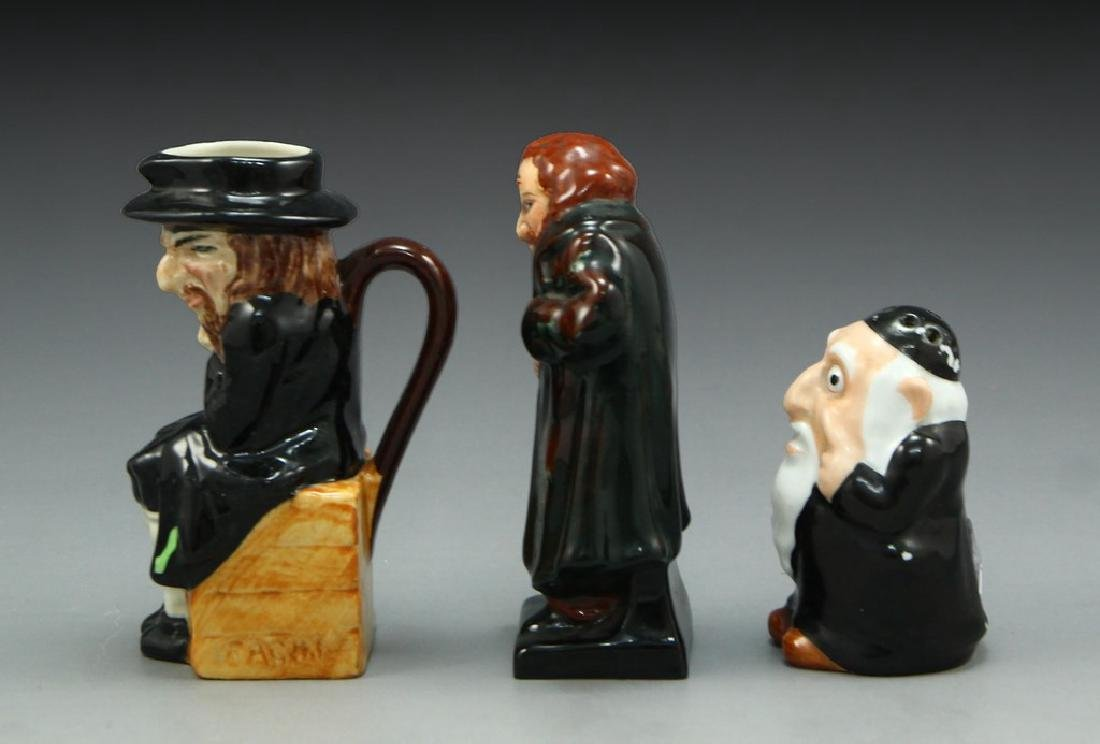 Lot of 3 Anti-Semitic Porcelain Figurines - 2